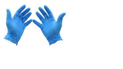 Rękawice nitrylowe L/ 100 szt.