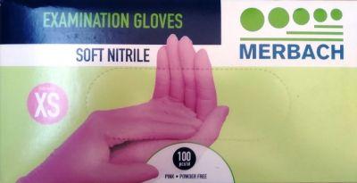 Rękawice nitrylowe M / 100 szt.